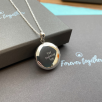 Encompass Locket - Silver