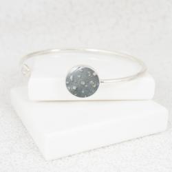 NEW Circle Bangle - Silver