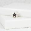 Star Bracelet Bead - Silver