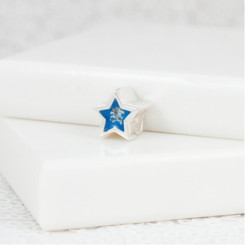 NEW Star Bracelet Bead - Silver