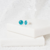 6mm Stud Earrings - Silver