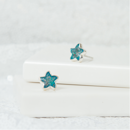 NEW Starfish Stud Earrings - Silver