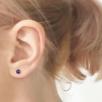 6mm Stud Earrings - Gold
