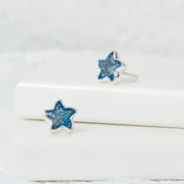 Starfish Stud Earrings - Silver