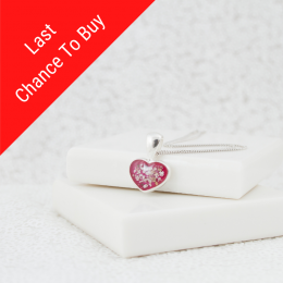 Petite Heart Necklace - Silver