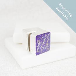 NEW Square Trinket Box - Silver