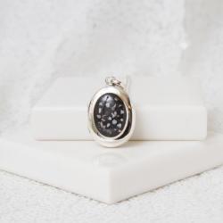 Oval Locket - Silver