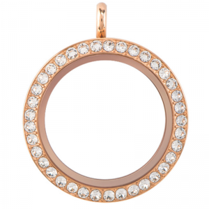 Rose Gold Diamante