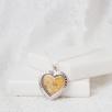 Sterling Silver Heart Locket - Silver