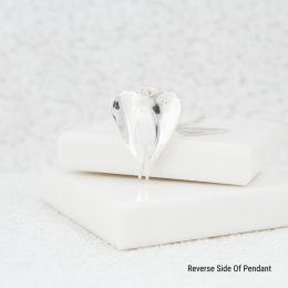 Angel Wing Necklace - Silver