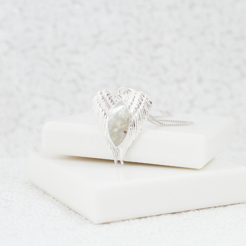 NEW Angel Wing Necklace - Silver