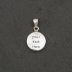 Circle Necklace - Silver