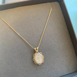Flower Necklace - Gold