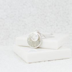 NEW Crescent Necklace - Silver