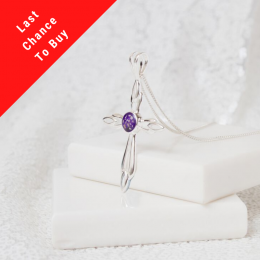 Original Cross Necklace - Silver