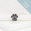 Paw Necklace - Silver