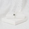 Petite Cross Necklace - Silver