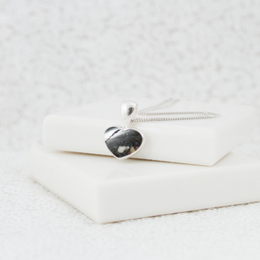 NEW Petite Heart Necklace - Silver