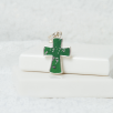 Chunky Cross Necklace - Silver