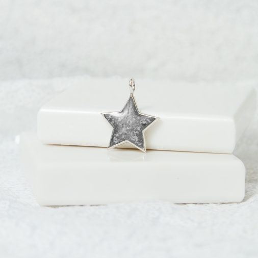 Star Necklace - Silver