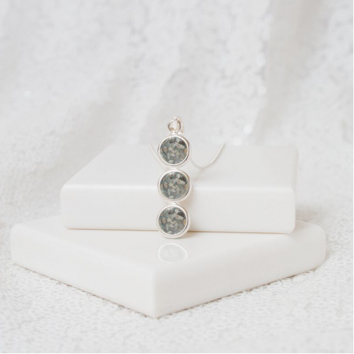 Three Tier Necklace - Silver