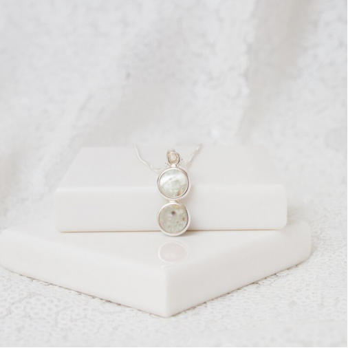 Two Tier Necklace - Silver