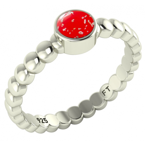 Bobble Ring - Silver