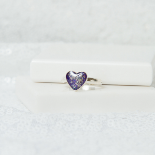 Heart Ring - Silver
