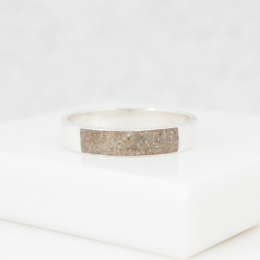 Neutrals Band Ring - Silver