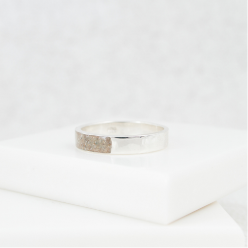 NEW Neutrals Band Ring - Silver
