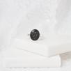 Oval Solitare Ring - Silver