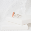 Oval Solitare Ring
