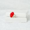 Teardrop Ring - Silver