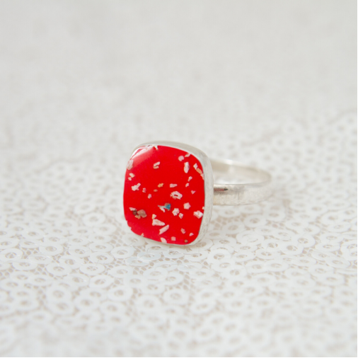 Square Ring - Silver