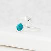 Wraparound Heart Ring - Silver