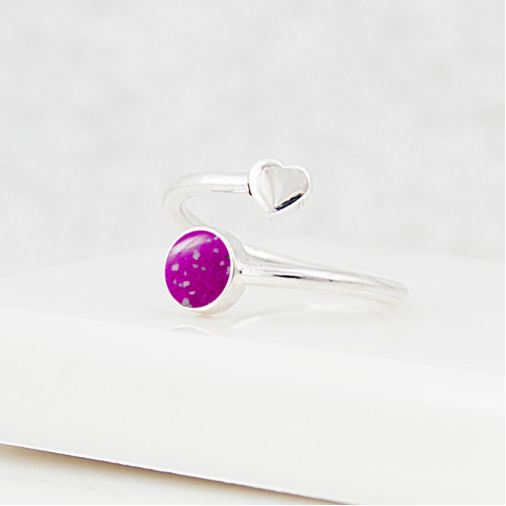 NEW Wraparound Heart Ring - Silver