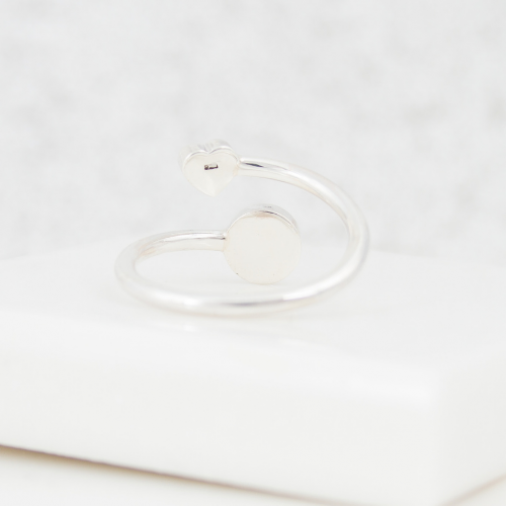 Wraparound Heart Ring