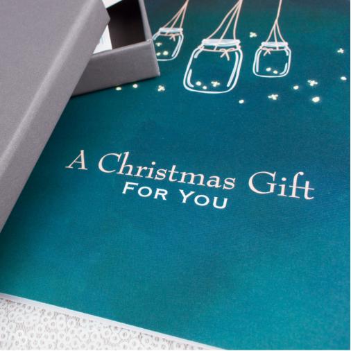Christmas Gift Box - Engraving